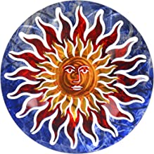 product image for Next Innovations Sun Face Refraxions 3D Wall Art, Blue and Red
