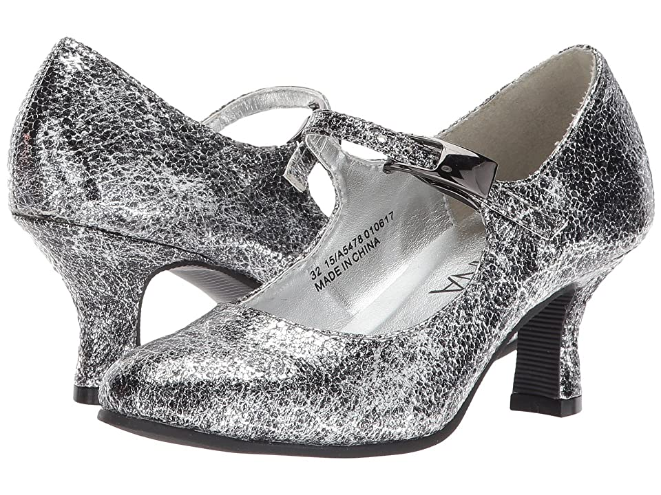 Image of Amiana 15-A5478 (Little Kid/Big Kid/Adult) (Silver Pico Metallic) Girl's Shoes