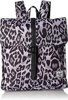 Herschel City Mid-Volume Backpack, Snow Leopard/Black, One Size