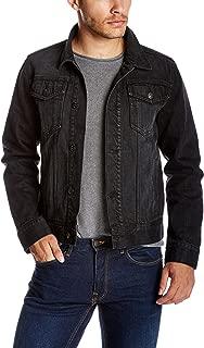 black jean jacket mens