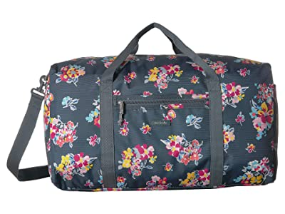 Vera Bradley Lighten Up Large Travel Duffel (Tossed Posies) Duffel Bags