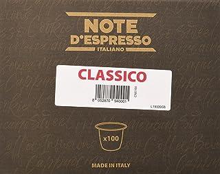 comprar comparacion Note D'Espresso Cápsulas de café clásico - 100 x 5,6 g, Total: 560 g
