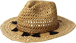 Hat Attack - Cane Rancher w/ Wood Bead Tassel
