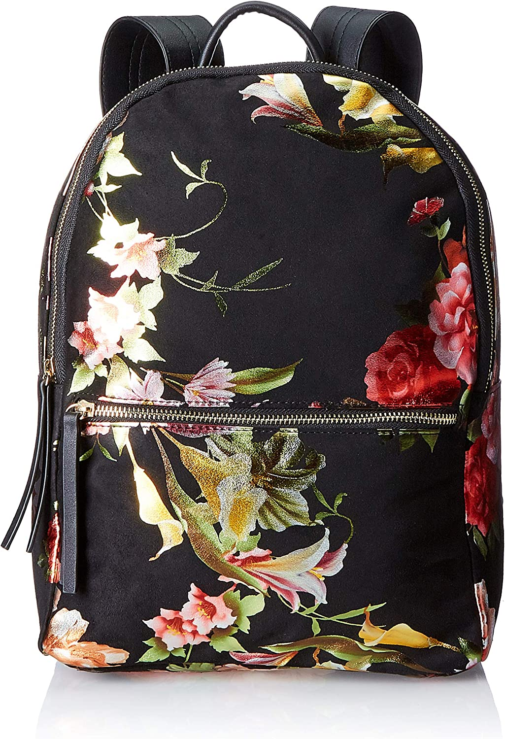PIECES Pcfelice Backpack Dc, Women's Handbag, Black, 13x15x25 cm (B x H T)