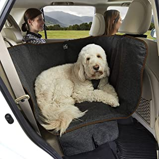 Kurgo Dog Car Seat Cover | Pet Bench Seat Covers | Half Hammock Style Car Cover | Water Resistant | Scratch proof | Baby C...