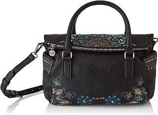 Desigual Damen Accessories PU HAND BAG Handtasche , Schwarz, U