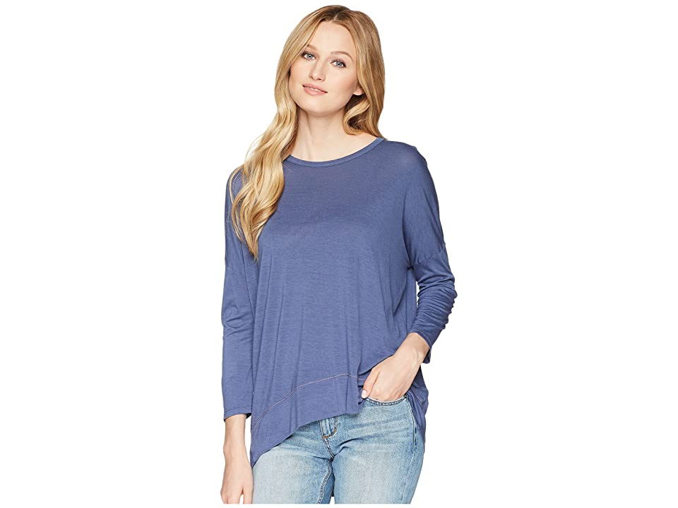 Three Dots Talia Top (Dusty Denim) Women