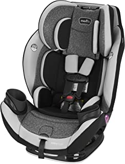 Evenflo EveryStage DLX All-in-One Car Seat, Infant Convertible & Booster Seat, Grows with Child Up to 120 lbs, Angled for ...