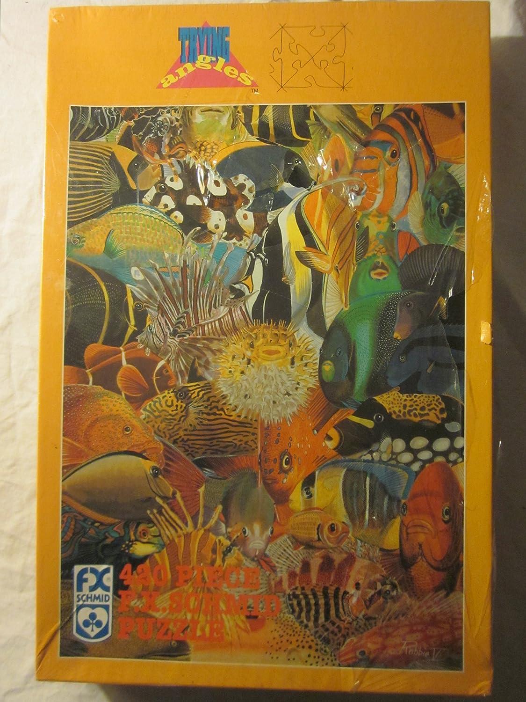 Neptune's Palette 420 Piece F.X. Schmid Puzzle 20 x 27