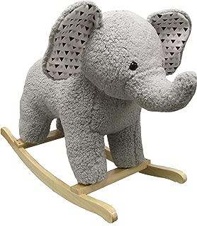 Large Rocking Horse - Plush Elephant Rocker for Kids