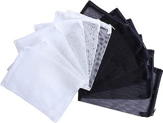 I-MART 12 Pcs Aquarium Filter Bags,  Mesh Fish Tank Filter Bag for Activated Carbon,  Bio Balls,  Ceramic Rings