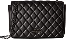 LOVE Moschino - Metallic Quilted Shoulder Bag