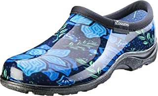 Sloggers Women's Waterproof Rain and Garden Shoe with Comfort Insole, Spring Surprise Blue, Size 11, Style 5118SSBL11