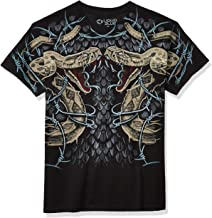 Fantasy Men's Rattler Strike T-Shirt Black