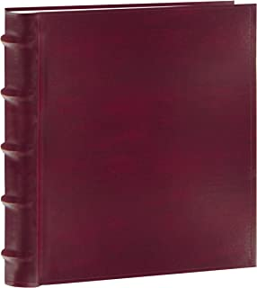 Pioneer Photo Albums 200-Pocket European Bonded Leather Photo Album for 5 by 7-Inch Prints, Burgundy