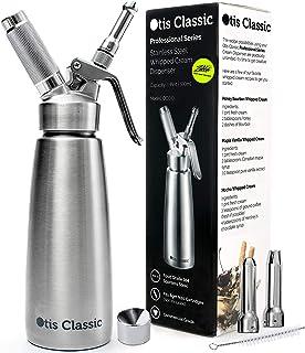 Whipped Cream Dispenser Stainless Steel – Professional Whipped Cream Maker –..