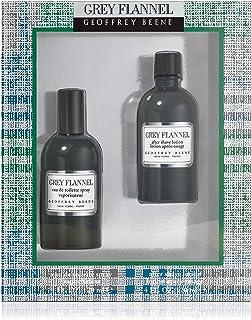 Geoffrey Beene Grey Flannel for Men Eau de Toilette 120ml+120ml After Shave Lotion Set