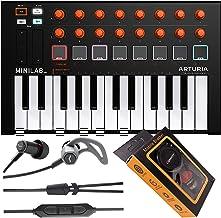 $104 » Sponsored Ad - Arturia MiniLab MKII Mini Hybrid Keyboard Controller Orange Edition 25-Note USB Mini Keyboard Controller wi...