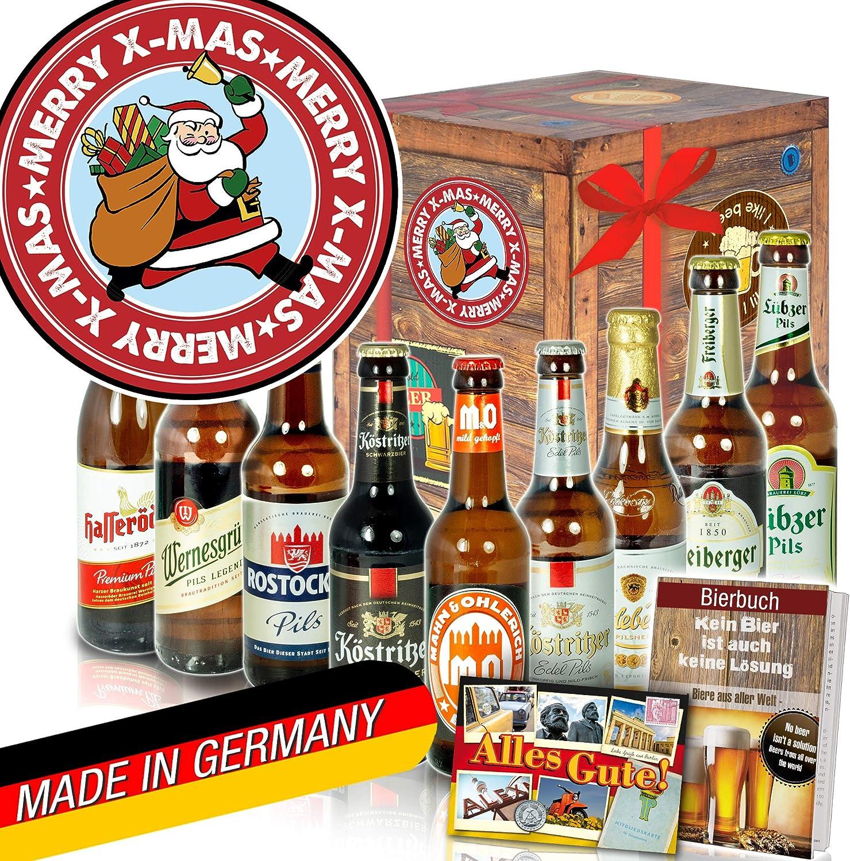 Geschenkidee Weihnachten Mann Deutsche Biere Weihnachtsmann