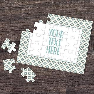 Personalized Puzzle Custom Puzzle Create Your Own Puzzle Pregnancy Announcement Wedding Announcement Announcement Ideas CYOP0050