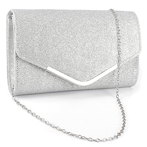 3dbf0a0c53a Ladies Envelope Clutch Bag Evening Bag Bridal Wedding Bag Handbag Prom Bag
