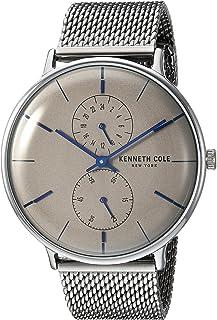 ساعة كينيث كول نيويورك للرجال كوارتز اليابانية ستانلس ستيل كرونوغراف