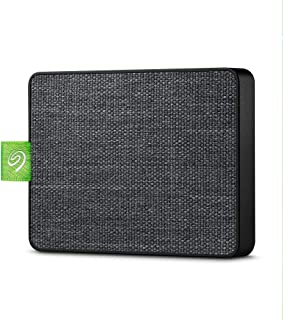 Seagate Ultra Touch SSD 1TB External Solid State Drive Portable - Black USB-C USB 3.0 for PC MAC and Seagate Mobile Touch ...