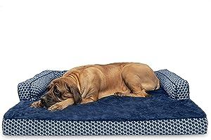 FURHAVEN PET DOG SOFA BED for Dogo Argentinos