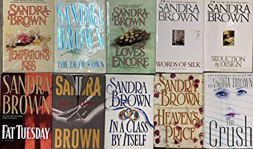 Sandra Brown Hardcover Collection 10 Novel Set