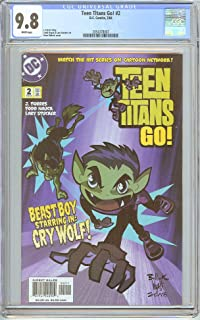 Teen Titans Go! #2 CGC 9.8 White Pages (2004) 2054378007