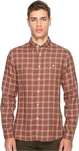 Linen Windowpane Shirt