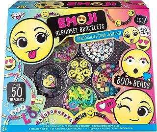 Fashion Angels Emoji Alphabet Bracelets Kit Craft, Multi