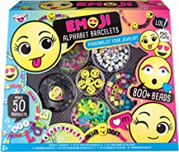 Fashion Angels Emoji Alphabet Bracelets Kit Craft, Multi