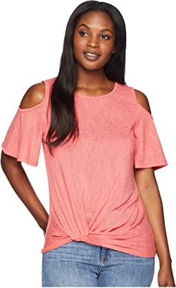 Alison Side Knot Cold Shoulder