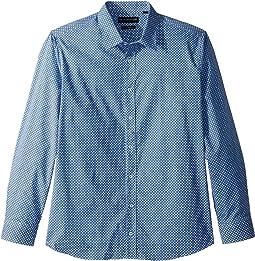 Geo Print Dress Shirt