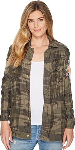Johnny Was - Brenna Drawstring Military Jacket