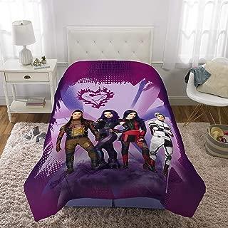 "Franco Kids Bedding Super Soft Microfiber Reversible Comforter, Twin/Full Size 72"" x 86"", Disney Descendants 3"