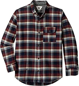VISSLA Kids - Central Coast Long Sleeve Flannel (Big Kids)
