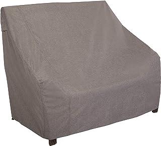 Modern Leisure Garrison Waterproof Outdoor Loveseat (66 W x 40 D x 39 H inches) Heather Gray, Model 3010 Patio Furniture C...