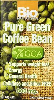 Bio Nutrition Coffee Bean Gel Caps, Pure Green, 50 Count