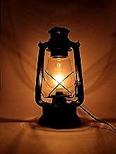 Interio Crafts Metal Electric Hanging Lantern Decor(Black)