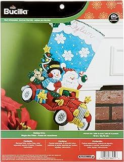 Bucilla 86451 Bota de Navidad con aplicación de Fieltro, 45