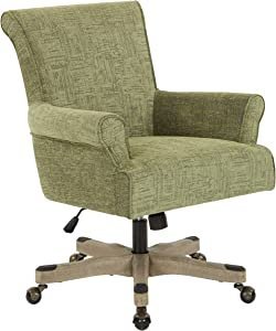 OSP Designs Megan Office Chair, Olive