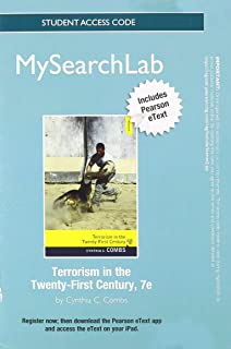 MySearchLab with Pearson eText -- Standalone Access card -- for Terrorism in the 21st Century