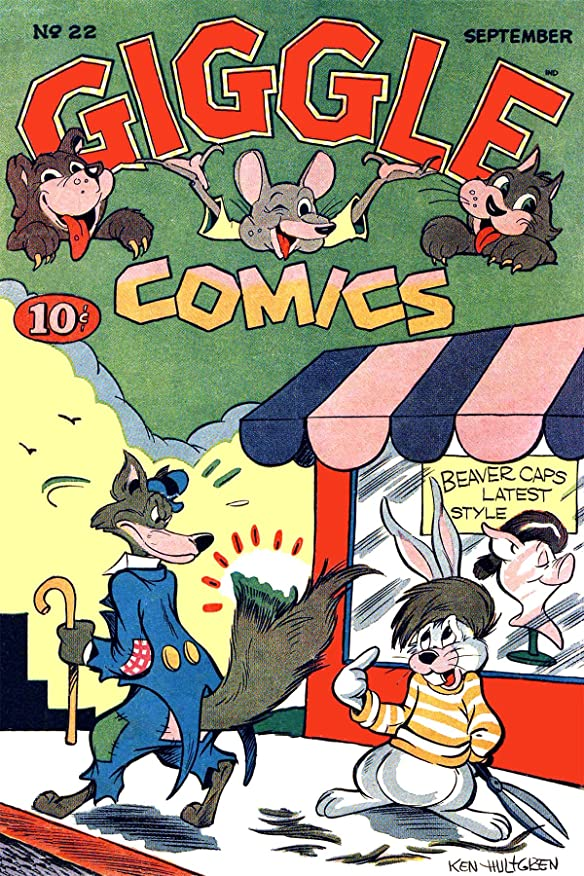 生態学パラダイスのスコアGiggle Comics, Number 22, Beaver Caps Latest Style (English Edition)