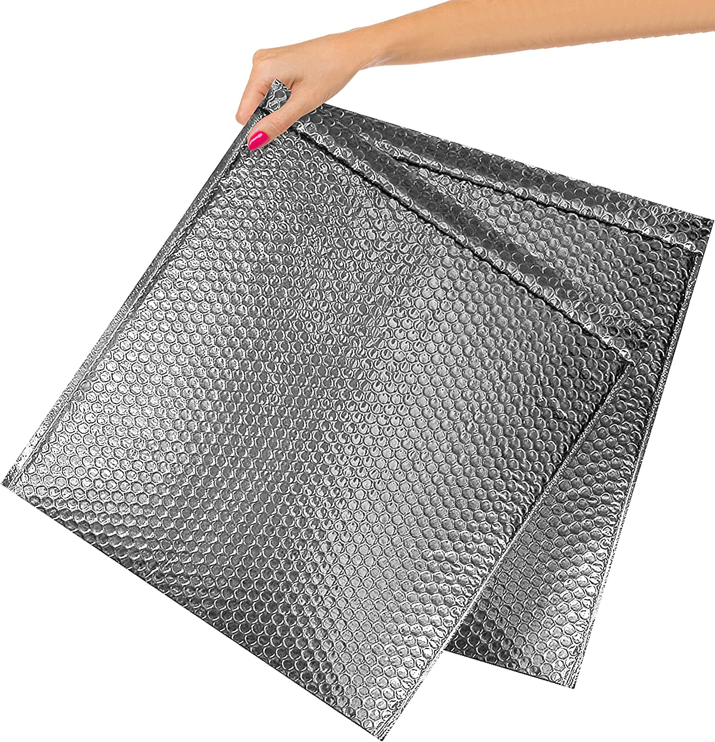 ABC Pack Brand Cheap Sale Venue of 10 Metallic Ranking TOP6 Silver Mailers 15x17. Bubble Padd