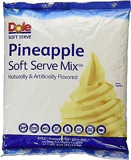 Dole Soft Serve Mix, Pineapple, 4.40 Pound