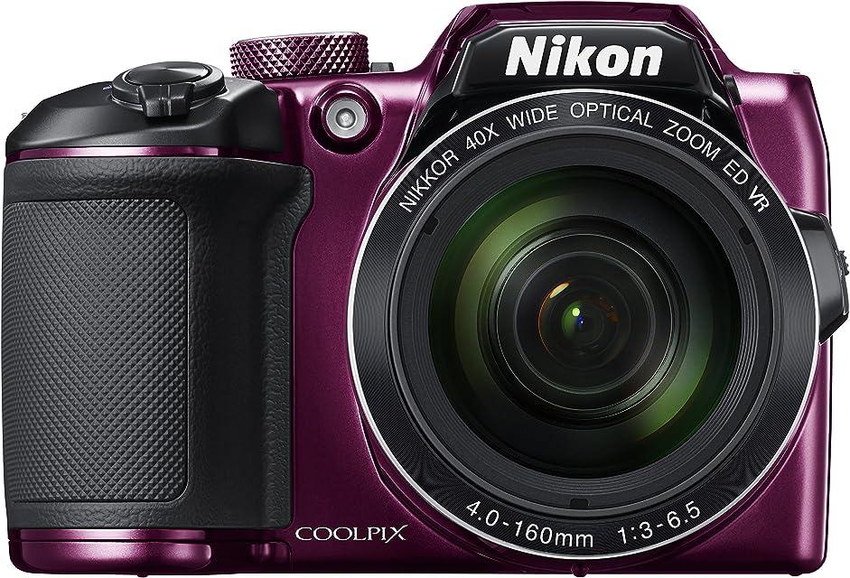 Nikon COOLPIX B500 - Cámara digital de 16 MP (4608 x 3456 pixeles TTL 1/2.3 4 - 160 mm) púrpura