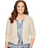 Lucky Brand - Plus Size Open Stitch Cardigan
