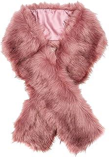Faux Fur6035021 estola, Rosa (Mid Pink 73), Talla única (Talla del fabricante: 99) para Mujer